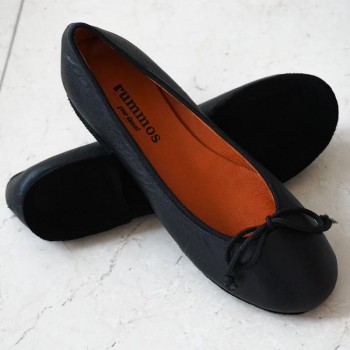 Ballerina  Größe 36  Leder schwarz B06