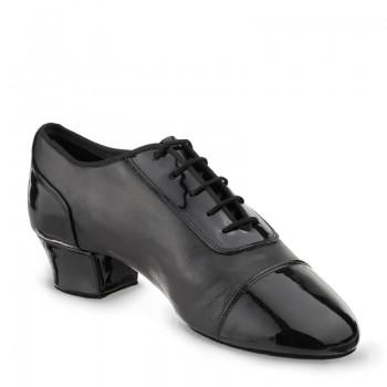 TRIUMPH Herren Latein Tanzschuhe Leder schwarz und Lackleder schwarz