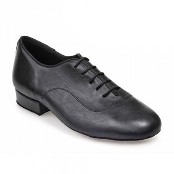 R316 - rummos Tanzschuhe Herren - Leder schwarz