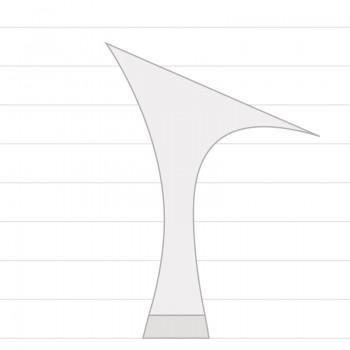 R357  Absatz 60R  Größe 42  Satin haut dunkel B04