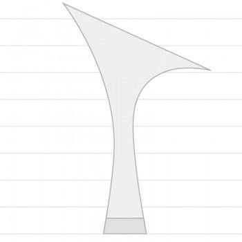Elena  Absatz 70R  Größe 41,5  Satin haut dunkel A01