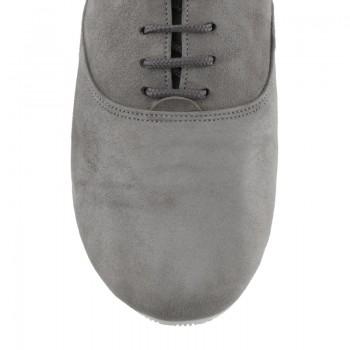 Sals'On Sneaker Nubukleder grau Kunststoffsohle