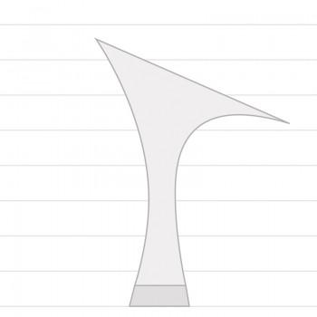 KAREN  Absatz 60R  Größe 36,5  Satin schwarz A02
