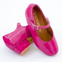 R337  Absatz 35G  Größe 27  Lackleder pink