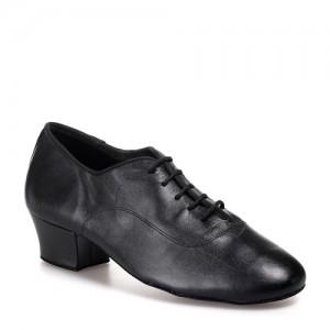 R316-001-45 - rummos Tanzschuhe Kinder (Jungen) - Leder schwarz
