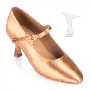 R337 - rummos Tanzschuhe Damen Standard - Satin Haut - Absatz: 5 cm
