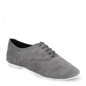 Sals'On Sneaker Nubukleder grau Kunststoffsohle  43