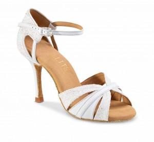 AURA Damen Elite Tanzschuhe Leder weiß GS weiß Absatz 60R Größe 38 C03