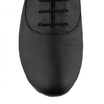 FLEXMAN Herrenschuhe mit flexibler Sohle Leder schwarz durchgehende Sohle FLEXIBEL