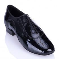 RPRO7 - rummos Tanzschuhe Herren standard - Lackleder schwarz - geteilte Sohle