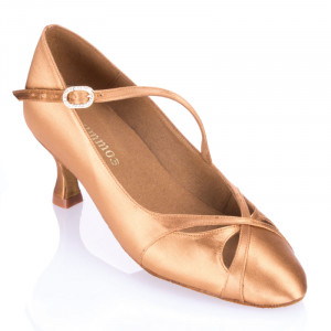 R397 - rummos Tanzschuhe Damen Standard - Satin Haut - Absatz: 5 cm