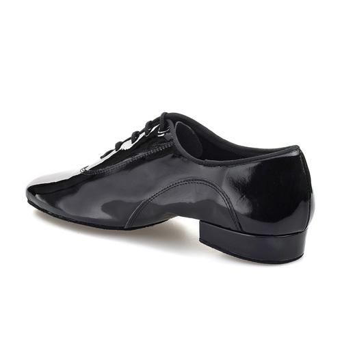 RPRO7 rummos Tanzschuhe Herren standard Lackleder schwarz geteilte Sohle